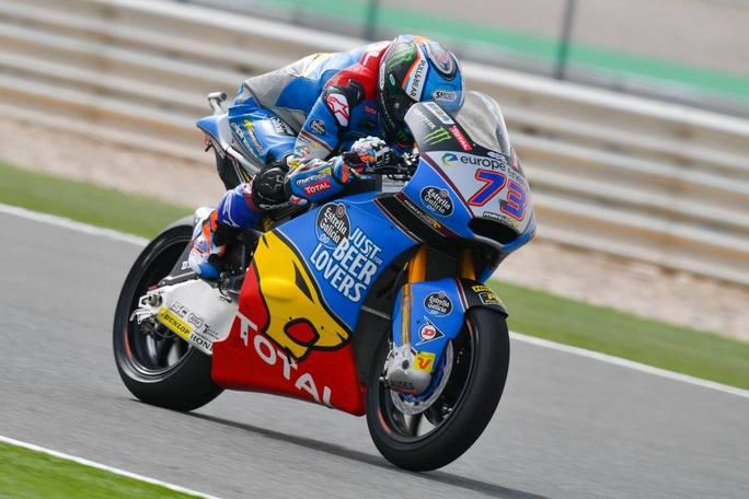 Moto2   Gp Qatar Warm Up: Marquez fa suo anche l'ultimo turno, Bagnaia insegue