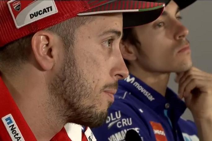 È subito Dovizioso-Marquez: il primo round alla Ducati
