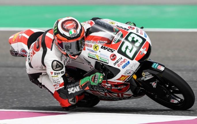 Moto3 | Gp Qatar Qualifiche: Antonelli porta Simoncelli in vetta, è pole