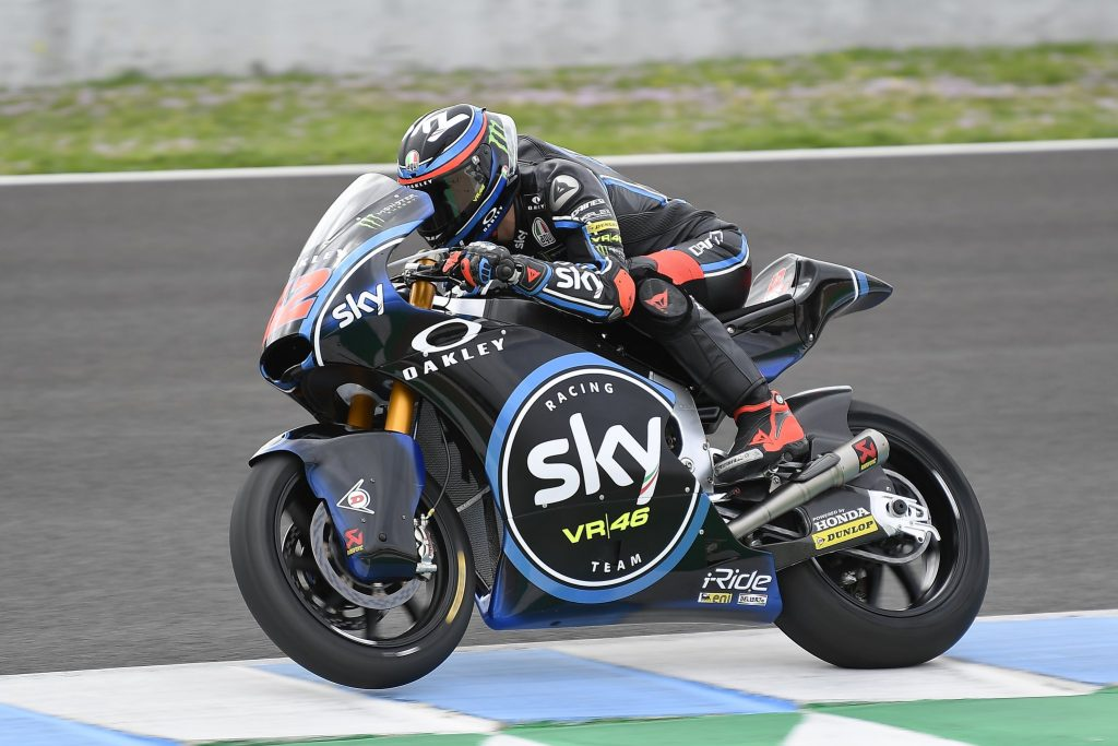Moto2 Test Jerez Day 1 | Bagnaia chiude la prima giornata al comando