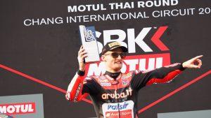 Superbike|Motul Thai Round, Gara2: Davies centra la prima vittoria in Thailandia