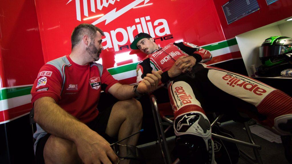 Superbike|Motul Thai Round, Gara2: frattura al bacino per Laverty