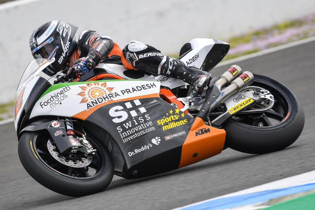 Moto2 Test Jerez Day 2 | Lowes il più veloce, quarto Bagnaia