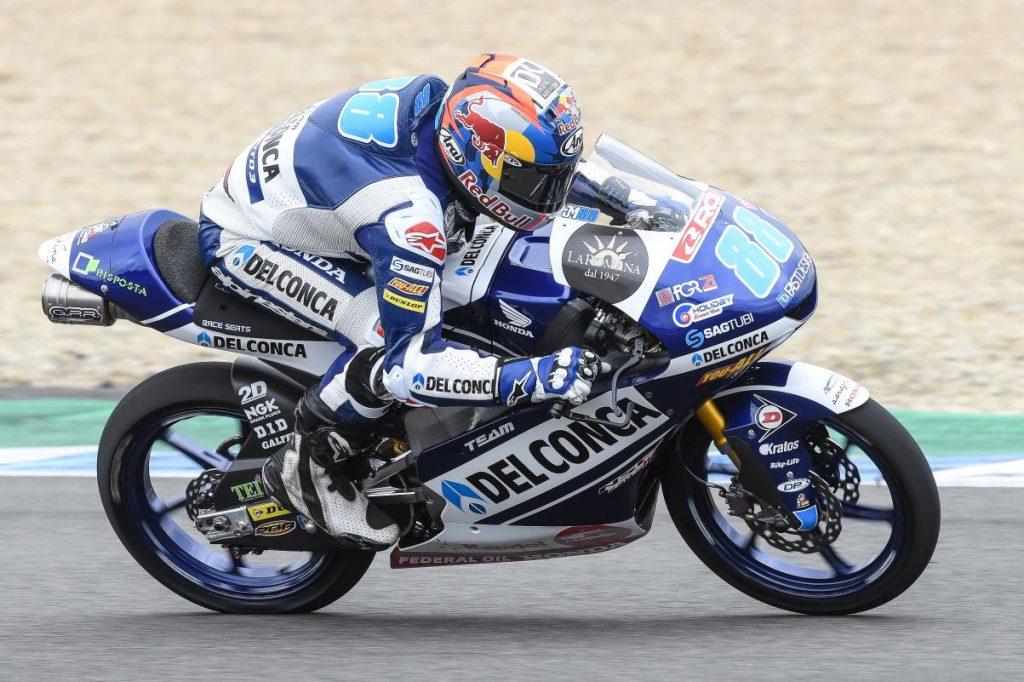 Moto3 Test Jerez Day 2   Martin al comando