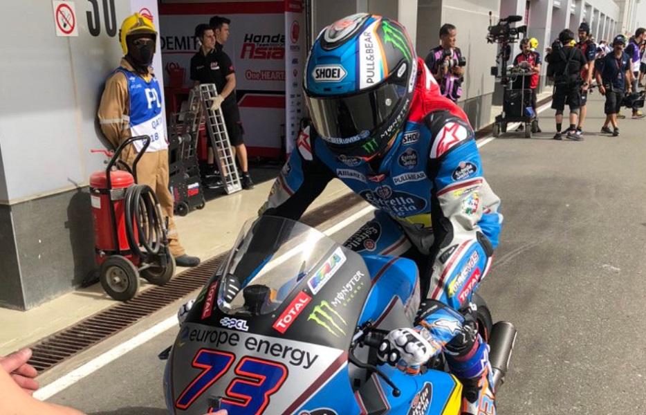 Moto2 | Gp Qatar, FP2: Marquez domina, Lowes e Bagnaia inseguono
