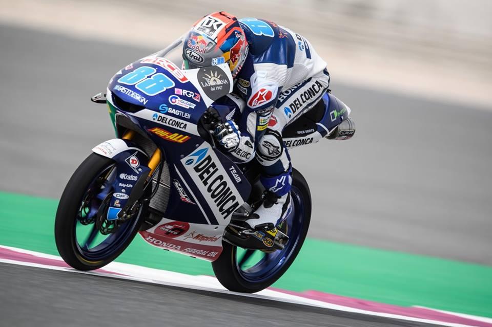 Moto3 Losail Gara: Martin vincitore su Canet, primo podio per Dalla Porta