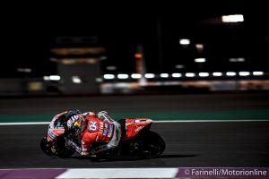 MotoGP   Gp Qatar, FP2: Doppietta Ducati con Dovizioso e Petrucci, Rossi nono