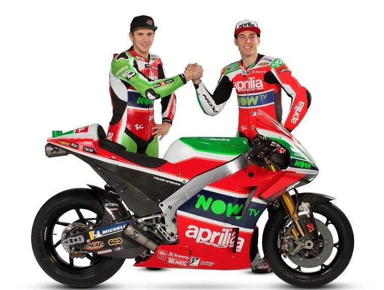 MotoGP | Presentata la nuova Aprilia RS-GP