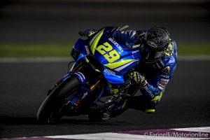 MotoGP   Test IRTA Qatar Day 2: Iannone beffa Dovizioso e Marquez, Rossi 11°