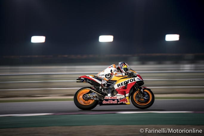 """MotoGP   Test IRTA Qatar Day 2: Pedrosa, """"Il dolore alla mano mi ha rallentato"""""""