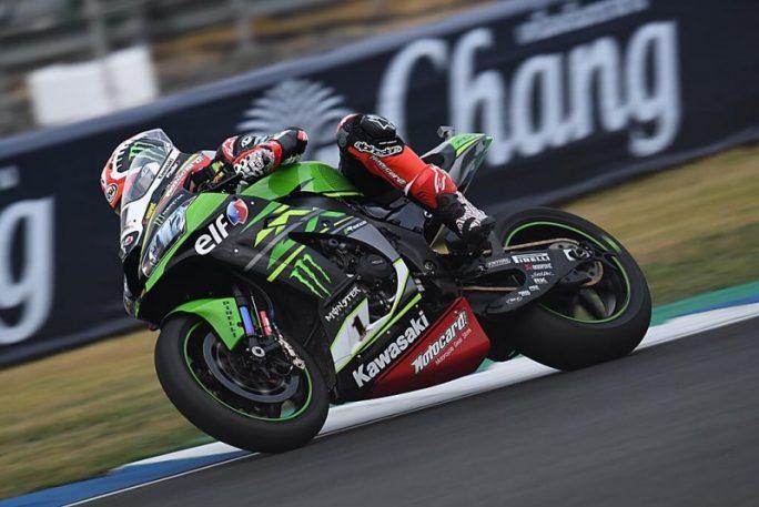 Superbike  Motul Thai Round, FP3: ruggito Kawasaki