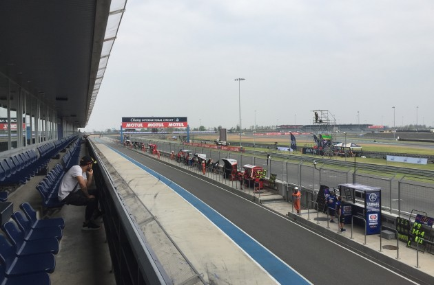 Superbike|Motul Thai Round, FP1: brilla Xavi Fores