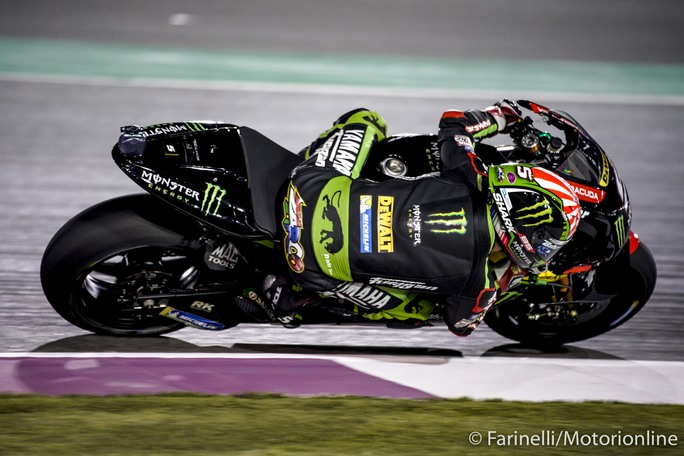 MotoGP   Gp Qatar Qualifiche: Pole da record per Zarco, Petrucci in prima fila