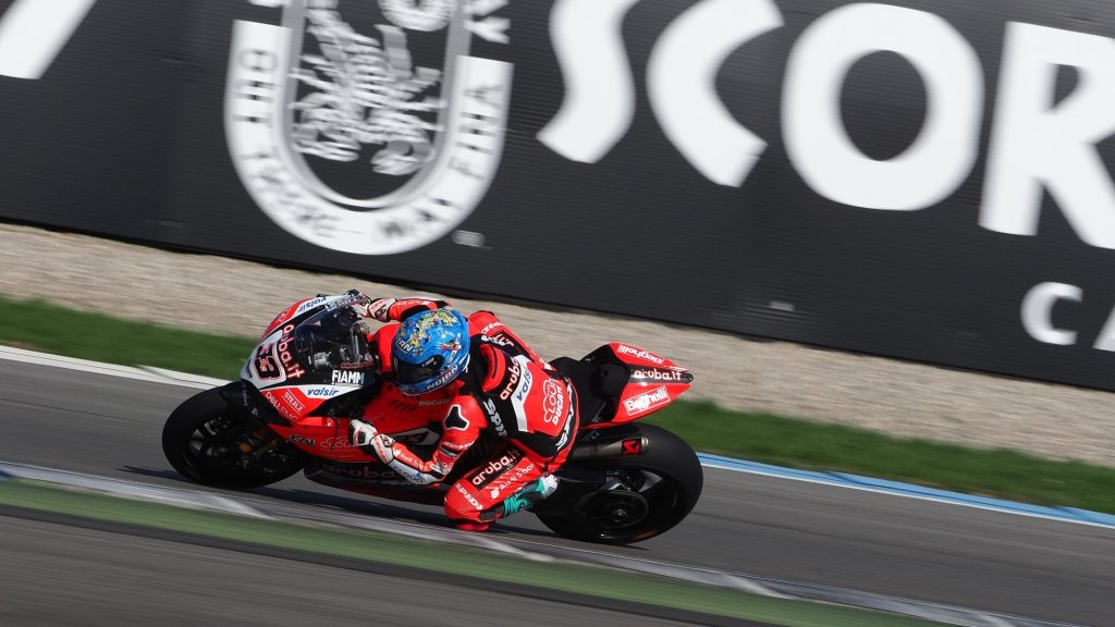 SBK | Motul Dutch Round, FP3: giornata interlocutoria per l'Aruba Racing