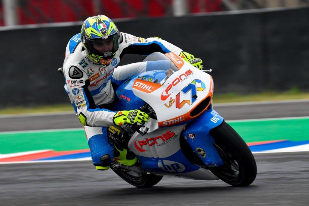 "Moto2   Gp Argentina Gara: Baldassarri, ""Continueremo a lottare ad Austin"""
