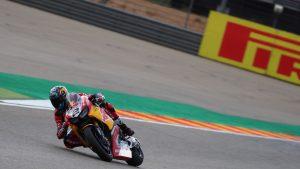 SBK | Pirelli Aragon Round, Gara 1: sei settimane di prognosi per Camier