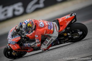 """MotoGP   Gp Stati Uniti Gara: Dovizioso, """"Sono abbastanza bravo a gestire il problema del contratto, ma siamo umani"""""""