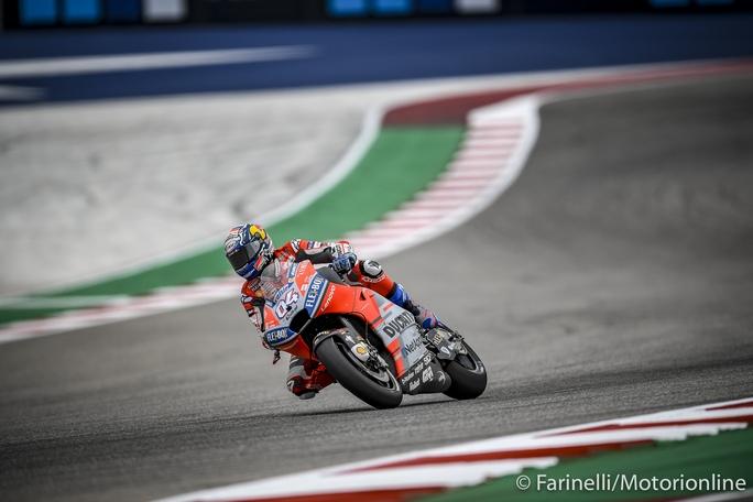 """MotoGP   Gp Stati Uniti Qualifiche: Dovizioso, """"Possiamo lottare per il podio"""""""