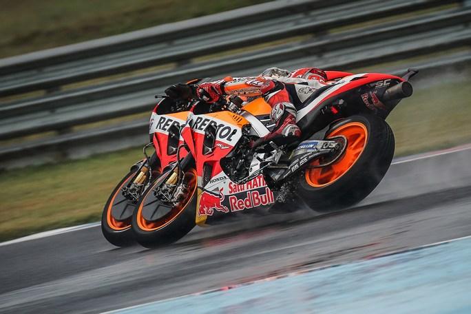 MotoGP   Gp Argentina Warm Up: Marquez imprendibile, Rossi è ottavo