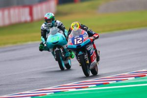 Moto3   Gp Argentina Gara: Primo successo per Bezzecchi, a podio anche Di Giannantonio