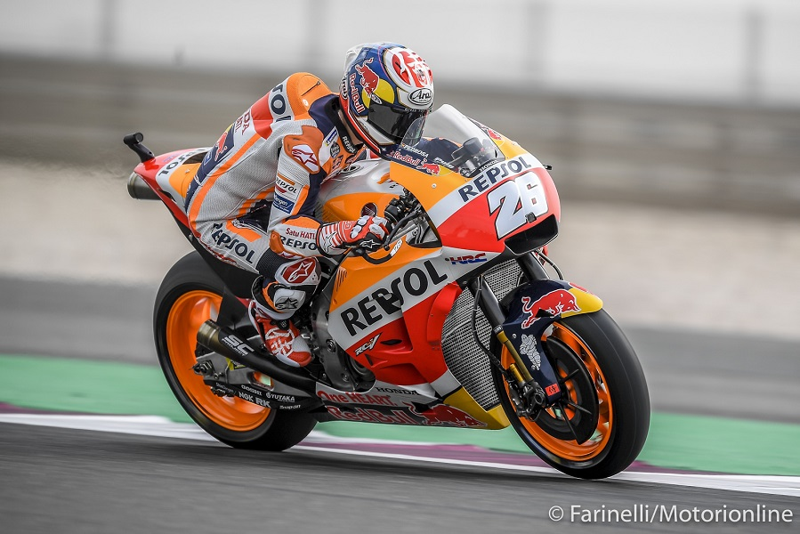 MotoGP | Gp Argentina FP1: Pedrosa subito al top, Rossi 7°, Dovi 8°