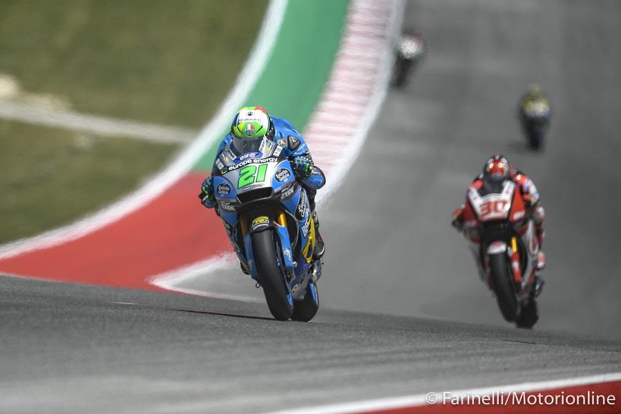 """MotoGP   Gp Stati Uniti Gara: Morbidelli, """"Non riesco a guidare la moto come vorrei"""""""