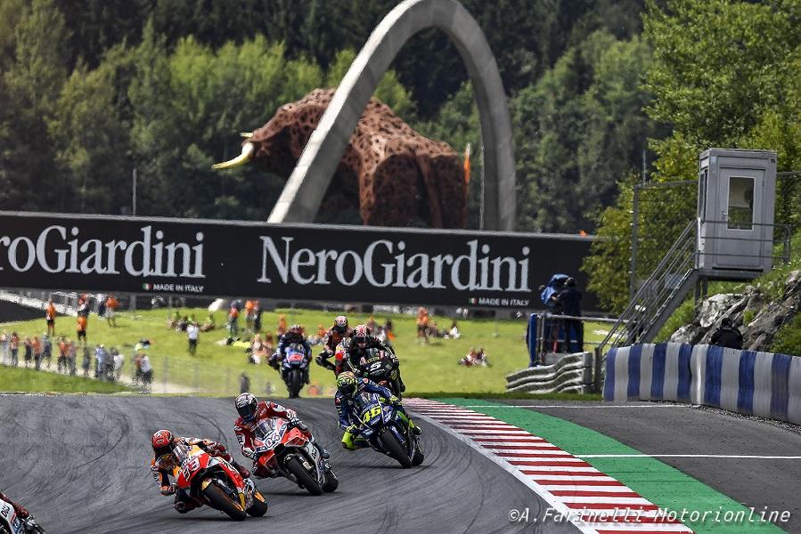 MotoGP | Eyetime nuovo title sponsor del Gp d'Austria