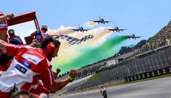 MotoGP Mugello | Le Frecce Tricolori protagoniste del GP d'Italia