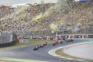 MotoGP   Gp Italia: Il Mugello fa il pieno, aumentate le tribune