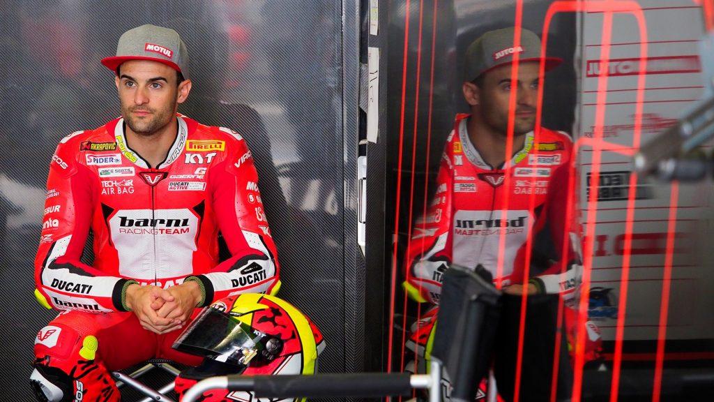 Superbike, il venerdì di Aragon: comincia l'avventura di Rinaldi con la Ducati