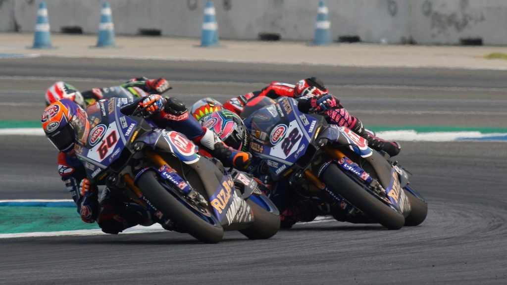 Superbike   Pirelli Aragon Round: Yamaha punta ancora al podio