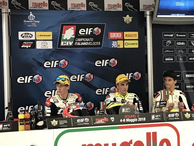 CIV: Moto 3, Stefano Nepa fa un altro sport e vince gara 1 al Mugello
