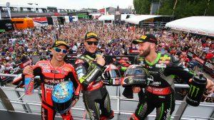 SBK   Pata Italian Round, Gara1: grande prestazione per il Kawasaki Racing Team