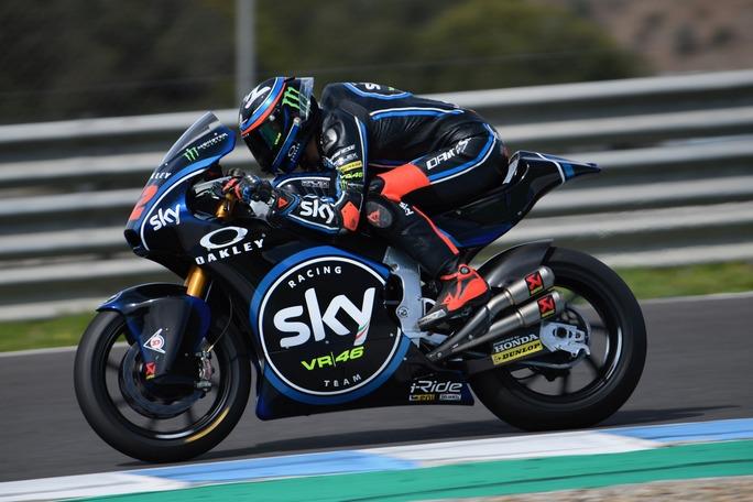 Moto2   Gp Jerez FP1: Bagnaia al comando, Fenati è terzo