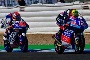 """Moto3   Gp Jerez Gara: Bezzecchi, """"Ho provato ad attaccare ma le gomme erano al limite"""""""