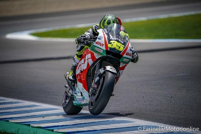 MotoGP   Gp Jerez Qualifiche: Straordinaria pole per Crutchlow, Rossi è decimo