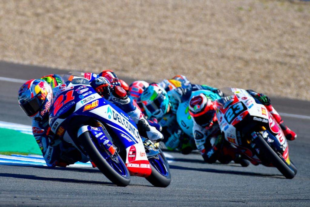 "Moto3  Gp Jerez Gara: Di Giannantonio, ""Poteva essere la prima vittoria"""