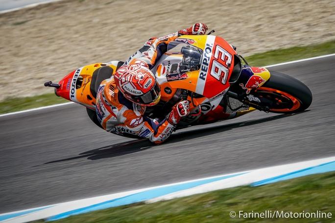 MotoGP | Gp Jerez FP3: Marquez da record, Dovizioso e Vinales costretti alle Q1