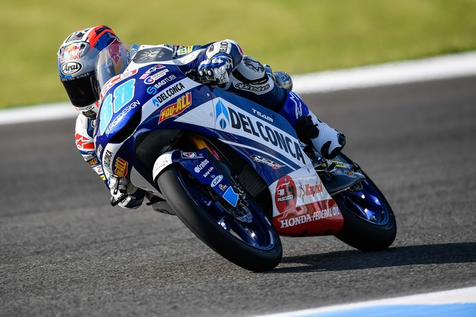 Moto3   Gp Jerez FP3: Dominio Honda Gresini, Martin precede Di Giannantonio