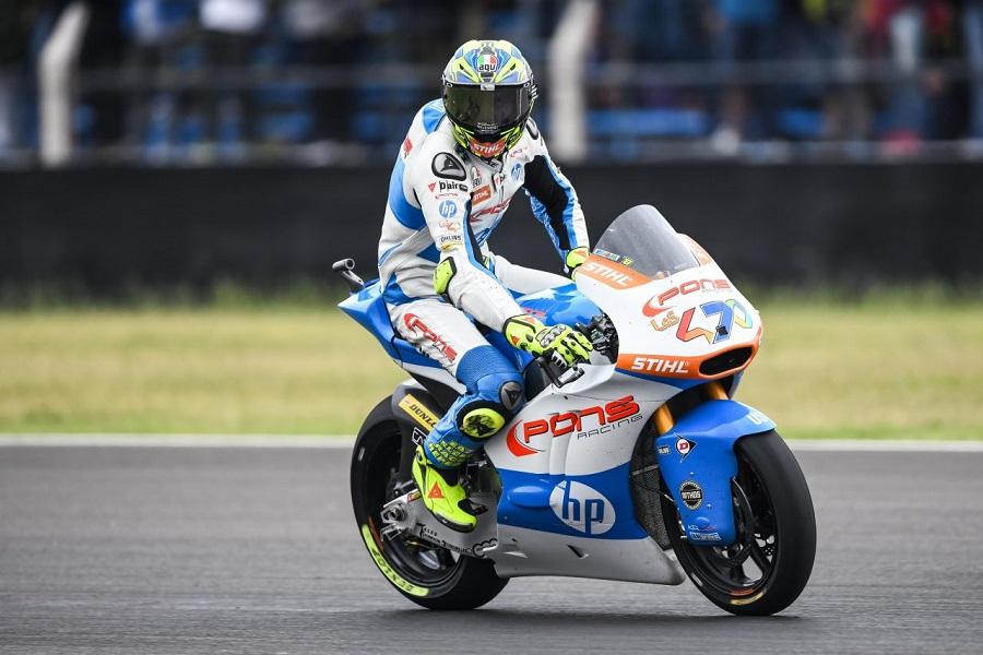 Moto2   Gp Jerez FP3: Baldassarri detta il passo, Pasini terzo