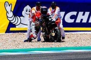 MotoGP | Gp Jerez: Dovizioso con la moto di Lorenzo, qualcosa non va…