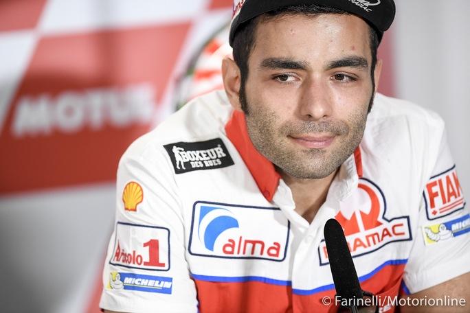 """MotoGP   Danilo Petrucci: """"La mia prima opzione è restare in Ducati"""""""