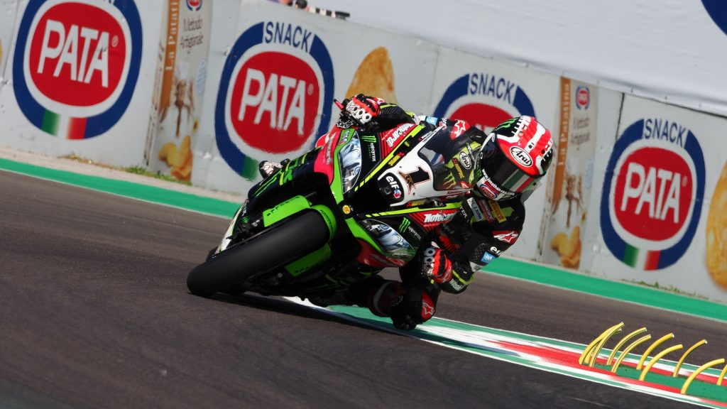 Total e Kawasaki insieme in SBK ad Imola