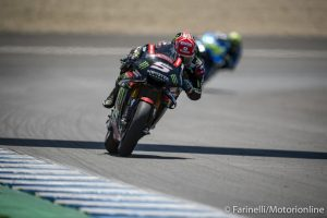 MotoGP   Gp Jerez Test : Zarco chiude al comando, Rossi è decimo