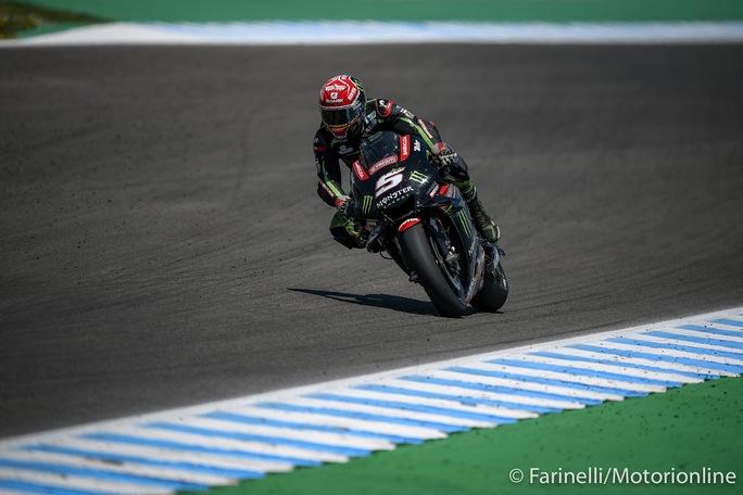 "MotoGP   Gp Jerez Test: Zarco, ""Sono molto contento"""