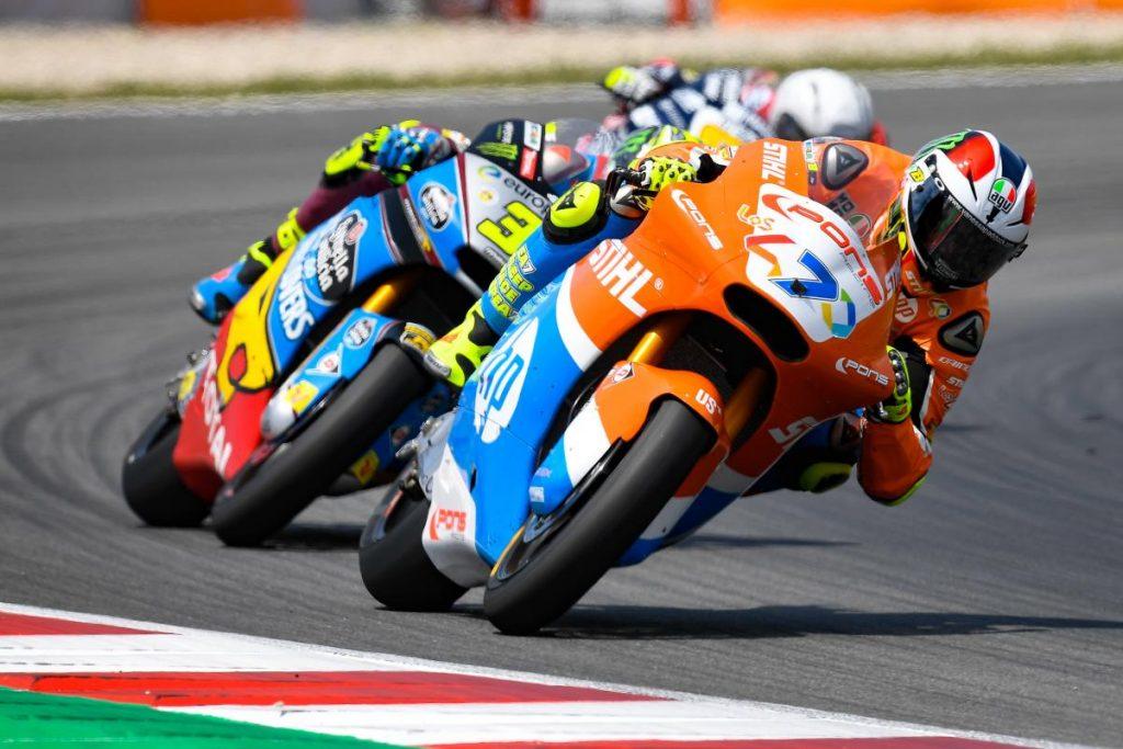 "Moto2 | Gp Barcellona Gara: Baldassarri, ""Ho dato il massimo"""