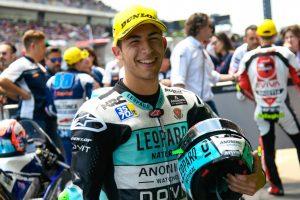 """Moto3   GP Barcellona Qualifiche: Bastianini, """"E' da tanto che l'aspettavamo"""""""
