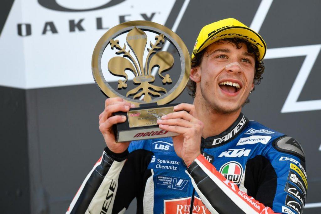 """Moto3   GP Mugello Gara: Bezzecchi, """"Ho dato tutto, sono molto contento"""""""