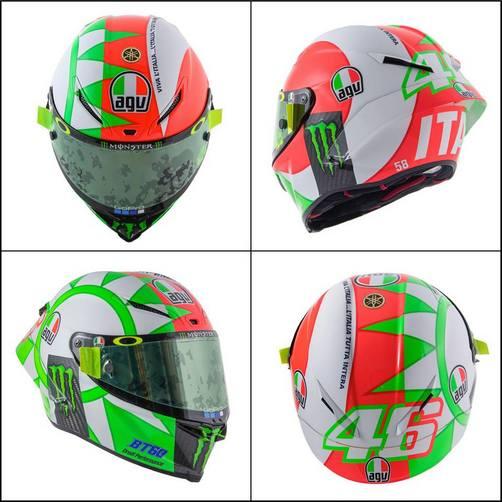 MotoGP | GP Mugello: Valentino Rossi svela il nuovo casco