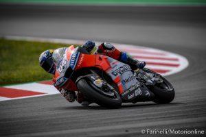 MotoGP | Gp Barcellona FP3: Dovizioso al Top, Marquez a terra e costretto alle Q1